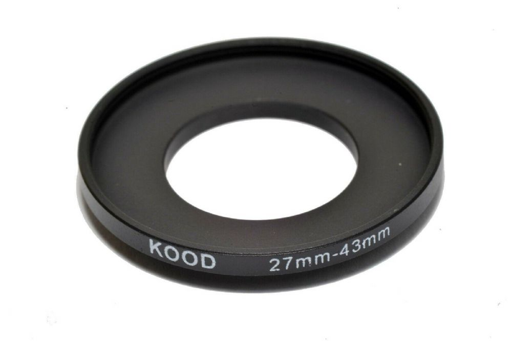 Stepping Ring 27mm - 43mm Step up Ring 27-43mm